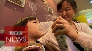 Chinese buy fresh air from Canada - BBC News