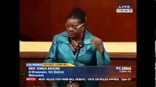 Gwen Speaks Out Against Farm Bill Divorce