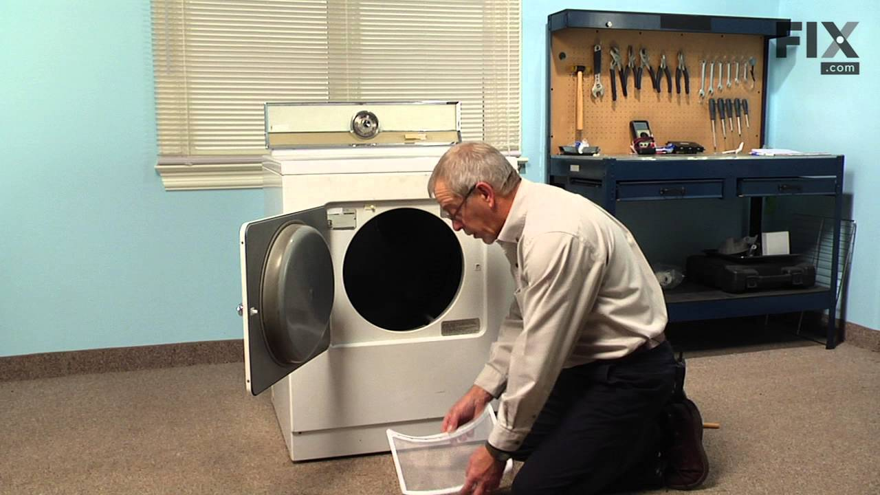 Replacing your Maytag Dryer Lint Filter