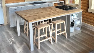 Building A Kitchen Island For Gathering