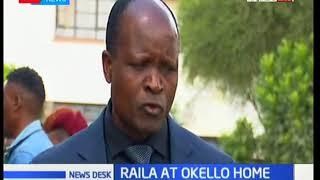 Raila Odinga visit Senator Ben Okello's home in Kajiado