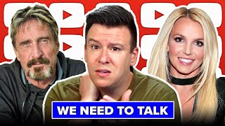 We Need To Talk About #FreeBritney & These Disgusting Leaks, John McAfee Death, Rudy Giuliani & More