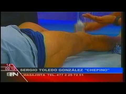 Vídeo de cómo hacer un masaje con osteocondrosis