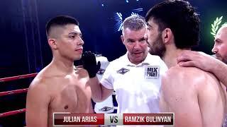 "MIX FIGHT 38 - JULIAN ARIAS vs RAZMIK ""EL CABALLERO"" GHULINYAN"