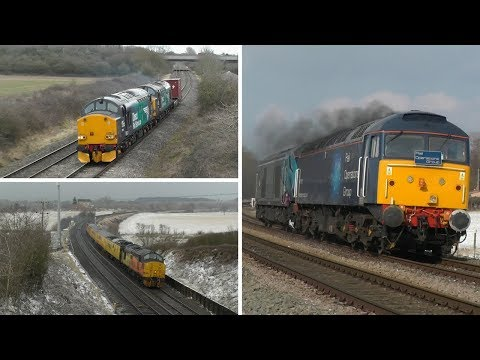68019 heads abroad, Colas Tractors in a Blizzard and various…