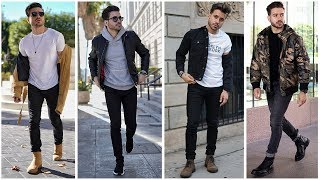 MEN'S OUTFIT INSPIRATION | Men's Fashion Lookbook 2019 | 3 Easy Outfits for Men