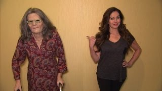 Watch Reporter Go Undercover as Elderly Granny to Investigate Plumber