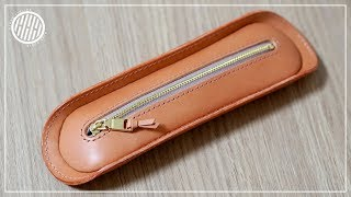 [DIY] Making A Handmade Leather Pencil Case
