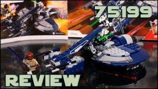 Lego Star Wars 75199 General Grievous' Combat Speeder Review | Обзор на ЛЕГО Спидер Генерала Гривуса