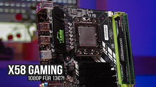 1080p Ultra Gaming mit 13€ CPU! - X58 noch relevant in 2021?