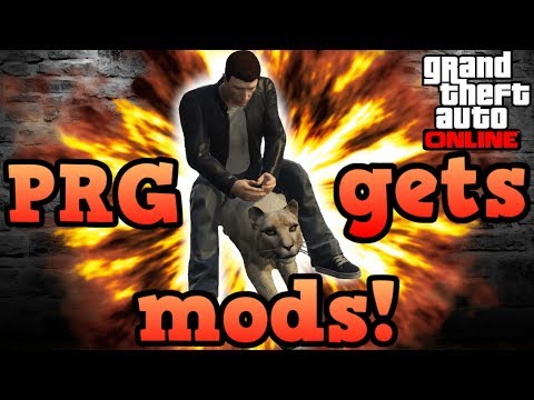 When Pyrerealm gaming gets GTAV mods