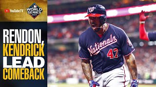 Howie Kendrick, Anthony Rendon launch CLUTCH homers to put Nationals ahead in World Series Game 7!