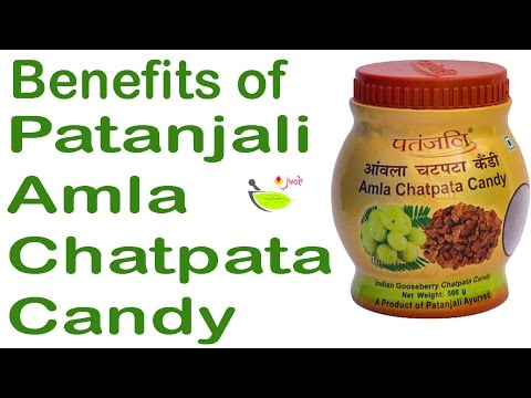 , title : 'Patanjali Amla Chatpata Candy👌 Patanjali products review in hindi✍  benefits of indian gooseberry'