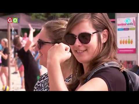 Zon, water en veel spektakel tijdens strandvolleybal Wedderbergen en havendagen - RTV GO! Omroep Gemeente Oldambt