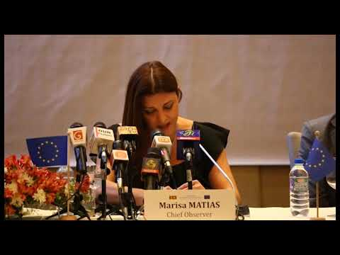 EU EOM Sri Lanka preliminary statement clip 2