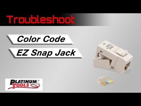 Troubleshoot: Color Code for the EZ-SnapJack