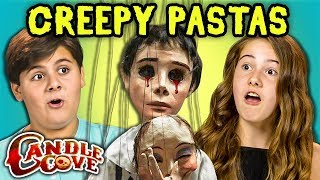 TWEENS READ SCARY STORIES - Candle Cove Creepypasta (REACT)