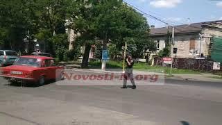 Пробки в Николаеве: движение транспорта регулируют полицейские (видео)