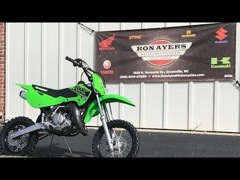 2021 Kawasaki KX 65 in Greenville, North Carolina - Video 1
