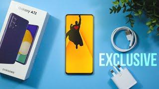 Samsung Galaxy A72 - EXCLUSIVE SURPRISE!