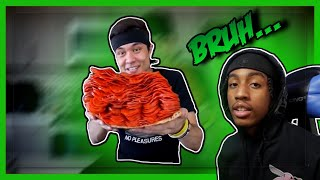 HOW DOES HE EAT ALL THAT!?! | MattStonie 1000+ Pepperoni on 1 Slice Of Pizza Reaction!! | *MUST SEE*