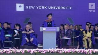 """I am forever a student"" Watch Pharrell's full NYU2017 Commencement speech:"