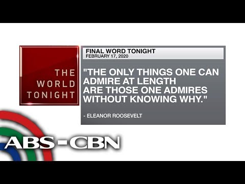 [ABS-CBN]  Final Word – February 17, 2020 | ANC