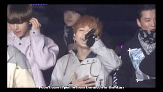 [Eng] 어디에서 왔는지 (Where did you come from) live - 2015 BTS Live Trilogy Episode I : BTS BEGINS