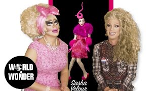 "UNHhhh Ep 38 1/2: ""RDR9 Promo Reaction"" w/ Trixie Mattel & Katya"