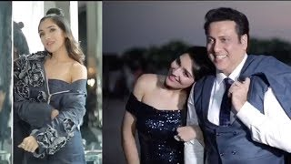 Govinda With Stunning Daughter Tina Ahuja Shooing For Fablook Ad