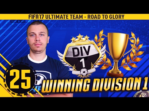 FIFA 17 WINNING THE DIVISION 1 TITLE - HOW TO WIN DIVISION 1 IN FIFA 17 ULTIMATE TEAM