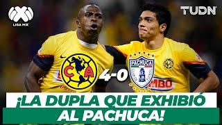 ¡Son inolvidables! Jiménez y el 'Chucho' destrozan al Pachuca | America 4-0 Pachuca - AP2012 | TUDN