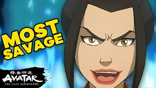 Azula's 21 Most SAVAGE Moments in ATLA⚡️  Avatar