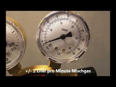 MIG/MAG Schweißen: Mischgas, Liter pro Minute (www.schweissbuch.de)