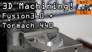 3D Machining! Can we get a great surface finish?