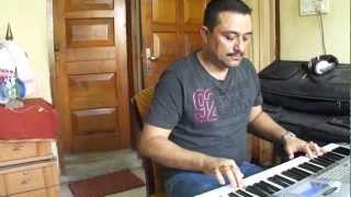 AAKASHI GANGA BISORA NAI.(melody in keyboard)