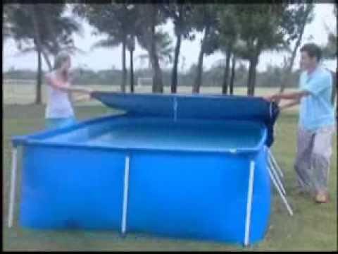 Splash Frame Pool Set-up Video