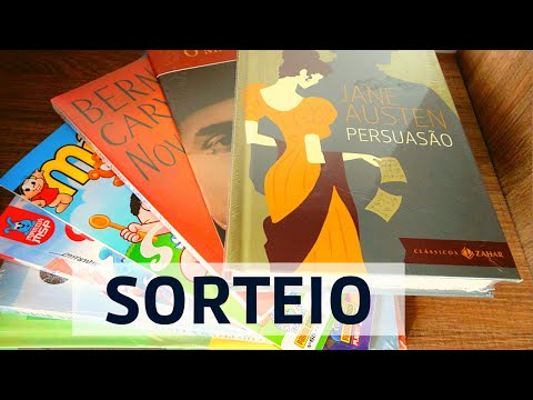 Sorteio de livros incríveis - Comemoração dos 5 mil inscritos