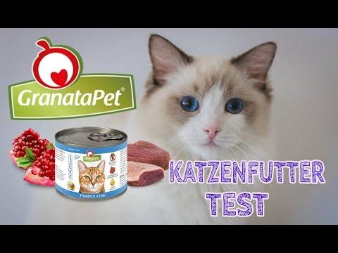 GRANATAPET Delicatessen KATZENFUTTER im Test | Nassfutter für Katzen | JulisTierfuttertest #11