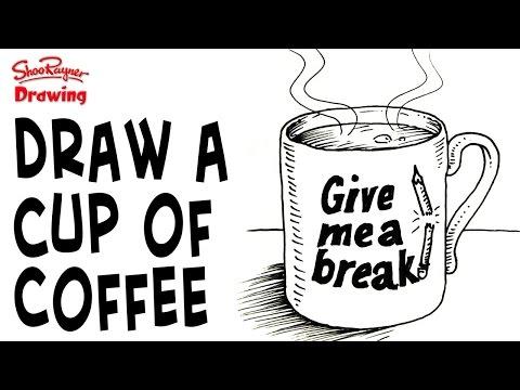 How to draw a Mug of Coffee | Shoo Rayner
