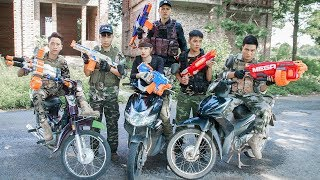 LTT Nerf War : SEAL X Warriors Nerf Guns Fight Criminal Group Hunter Diamond