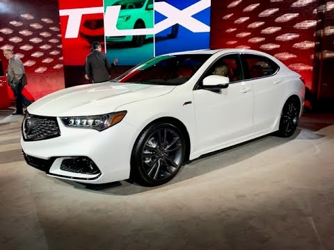 2018 Acura TLX A-Spec – Redline: First Look – 2017 NYIAS