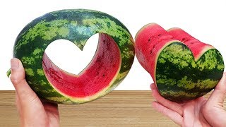 AWESOME LIFE HACKS WITH WATERMELON