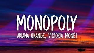 Ariana Grande   Monopoly (Lyrics) Ft. Victoria Monét