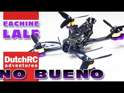 final review of the Eachine LAL5 video / freestyle FPV quad
