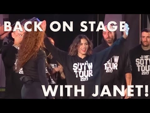Together again! Dancing with Janet Jackson after 15 years!