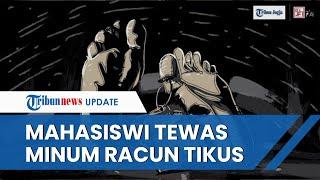 Kronologi Mahasiswi di Yogyakarta Tewas Bunuh Diri, Polisi Temukan Segelas Racun Tikus di Kosnya