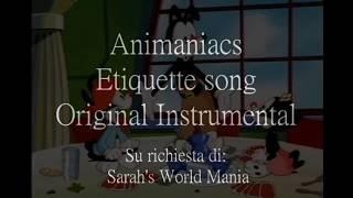 The etiquette song | Animaniacs | fandub