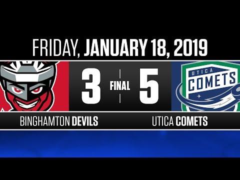 Devils vs. Comets | Jan. 18, 2019