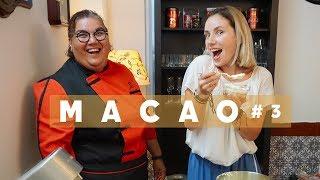 #3 МАКАО Наследие ЮНЕСКО гуляем по историческому центру и учимся готовить португальский десерт